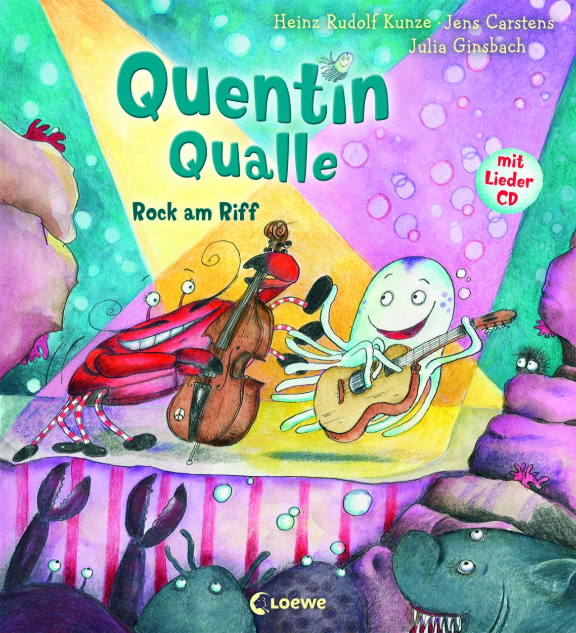 Quentin Qualle, Rock am Riff